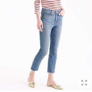 J Crew petite vintage crop jeans landers wash 26 P